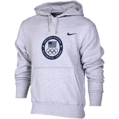 Team USA Nike Flag and Rings Olympic Hoodie Gray | Usa