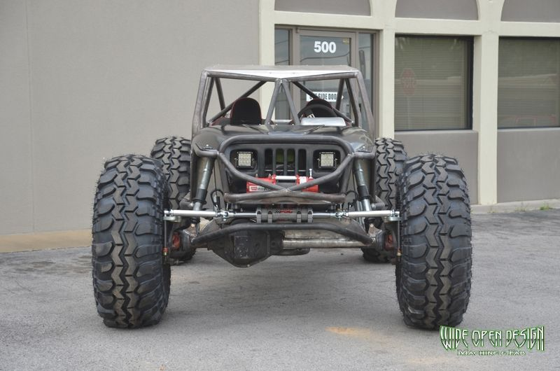 Jeep Evolution Wide Open Design Offroad Jeep Cars