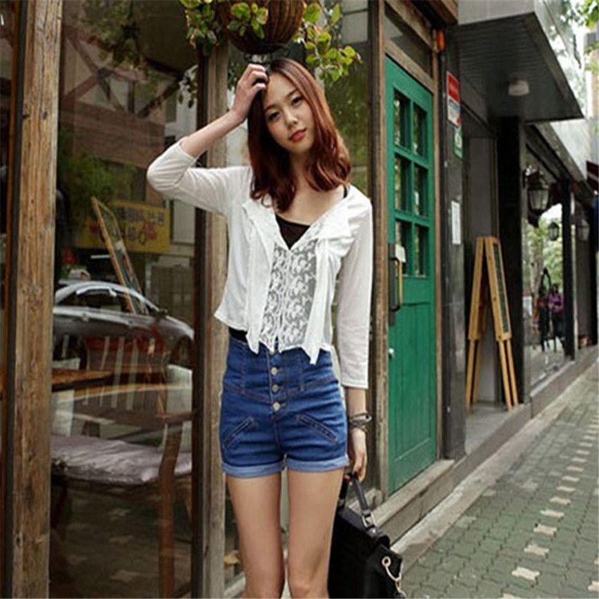$7.93 (Buy here: https://alitems.com/g/1e8d114494ebda23ff8b16525dc3e8/?i=5&ulp=https%3A%2F%2Fwww.aliexpress.com%2Fitem%2FShocking-Show-Womens-Girl-Denim-High-Waist-Lady-Shorts-Jeans-Pants-Vintage-Cuffed%2F32742150567.html ) Shocking Show Womens Girl Denim High Waist Lady Shorts Jeans Pants Vintage Cuffed for just $7.93