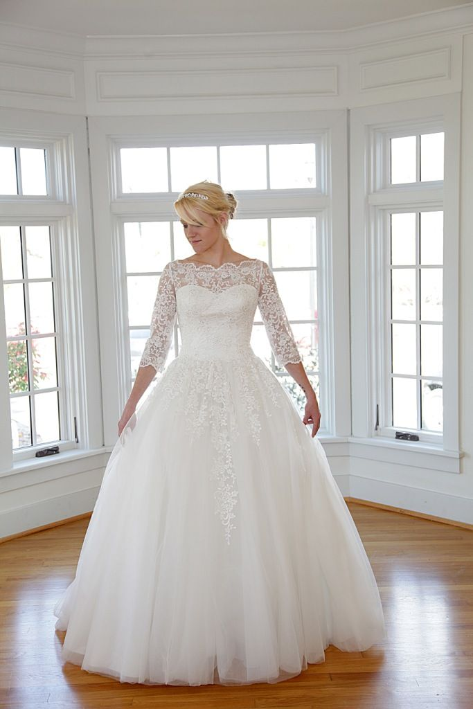 Evelyn Modest Ball Gown from the Epoch Collection. Amazing Lace ...
