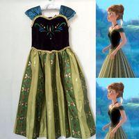 Grils Disney Frozen Princess Queen Elsa Anna Cosplay Costume Party Fancy DressG3