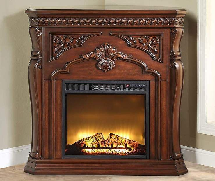 Marvelous 42 Cherry Corner Electric Fireplace Big Lots My Home Interior And Landscaping Oversignezvosmurscom