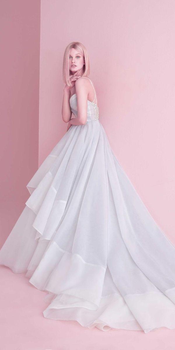 30 Wedding Dresses 2019 — Trends & Top Designers   Vestidos de novia ...