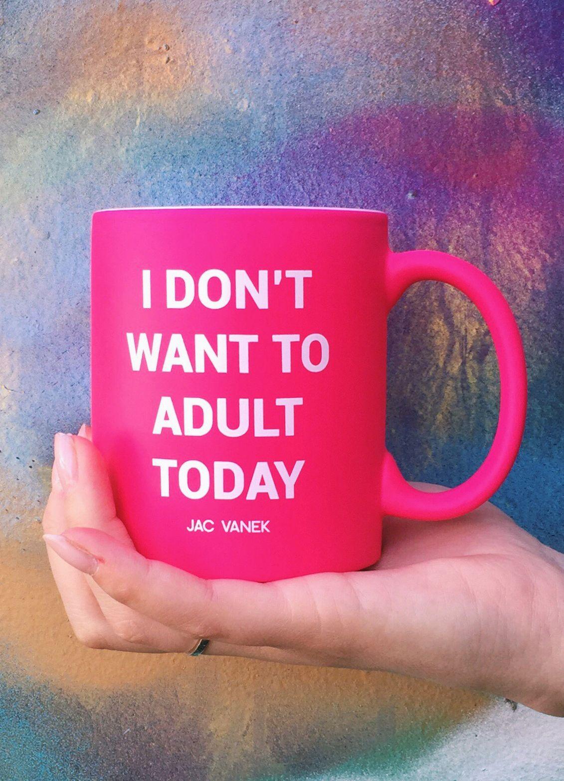 Jac Vanek Coffee Mug With