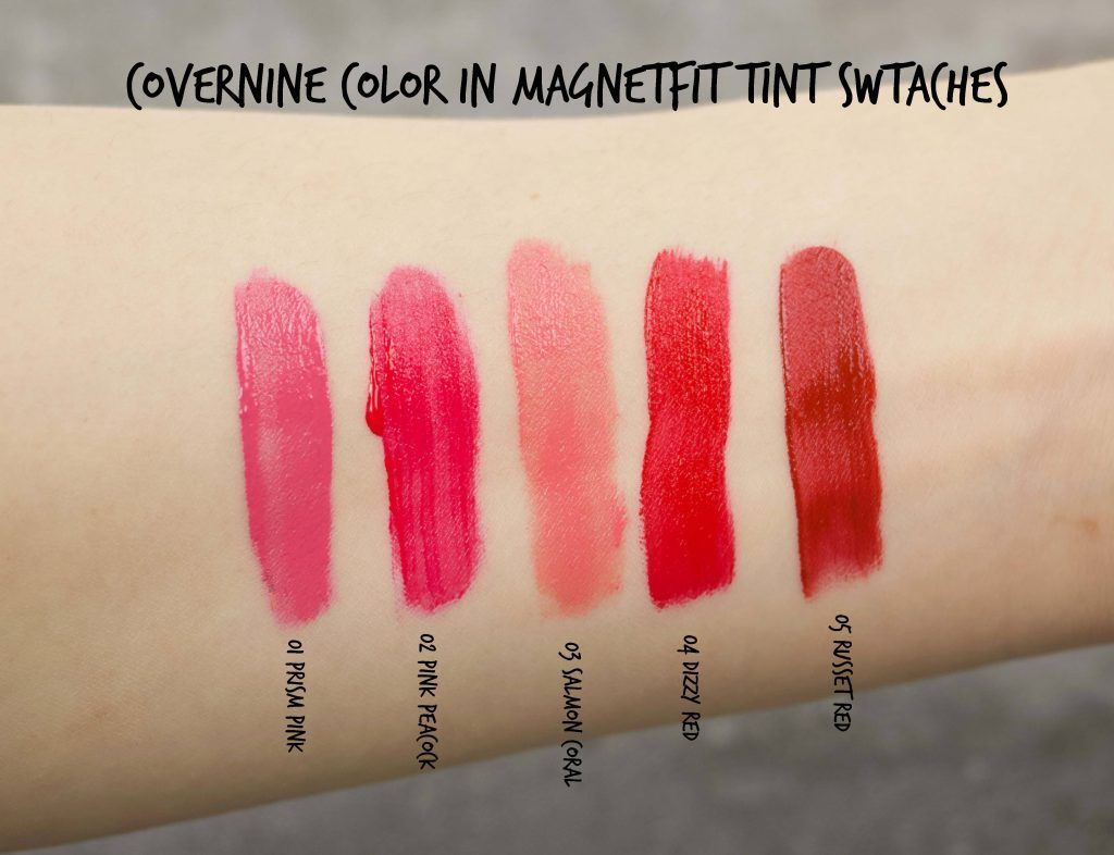 Covernine Color In Magnetfit Tint Kit Review Swatches Tints