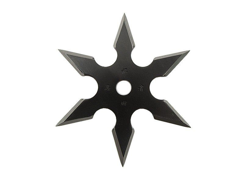 Black Titanium Ninja Star