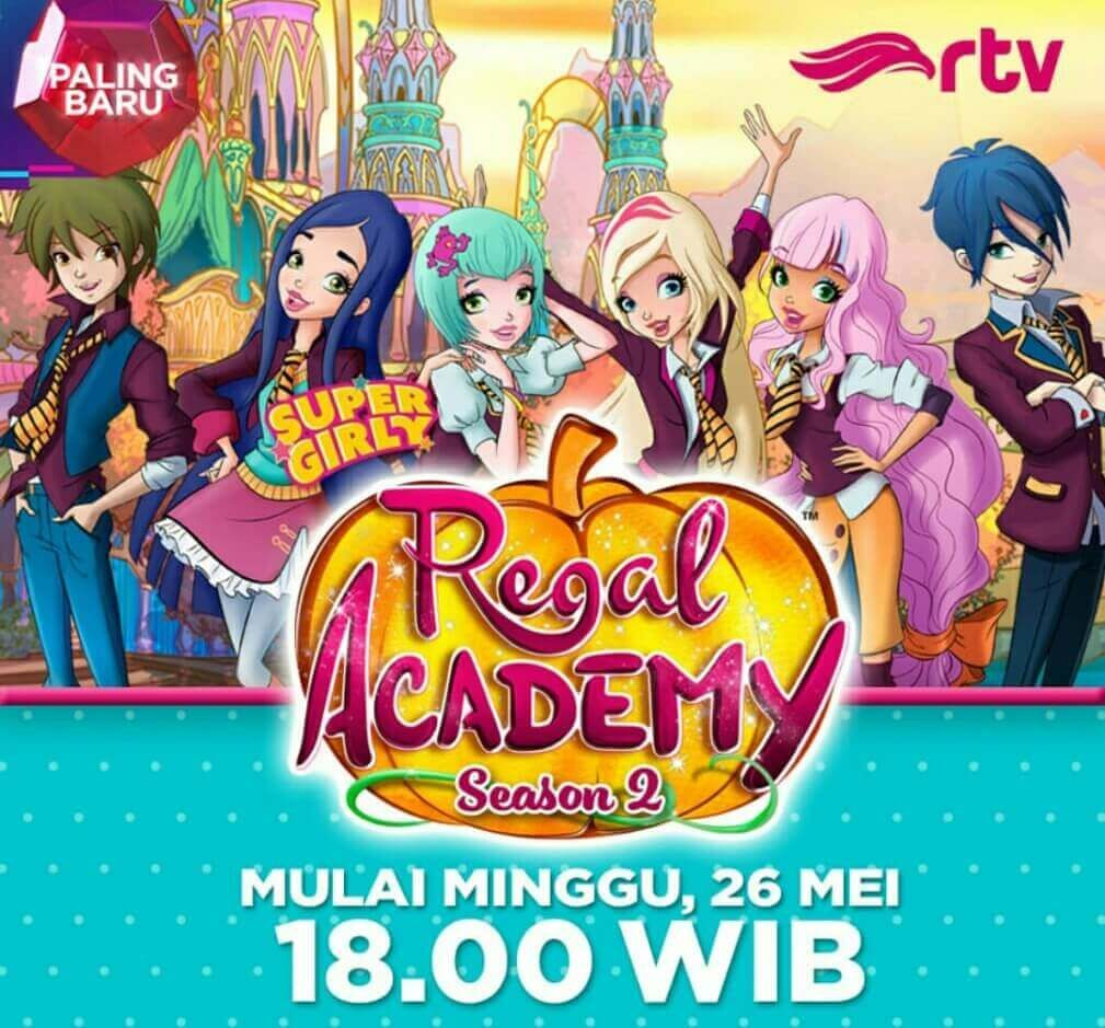 Regal Academy Season 2 Tayang Di Rtv Kartun Petualangan Di Sekolah Sihir Kartun Petualangan Kutu Buku