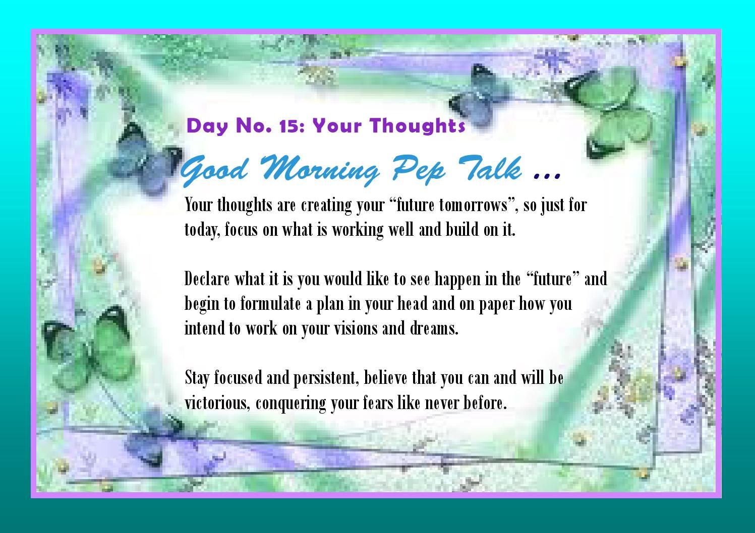 Good morning daily pep talks ebook 2014 daily pep talks ebook 2014 fandeluxe PDF