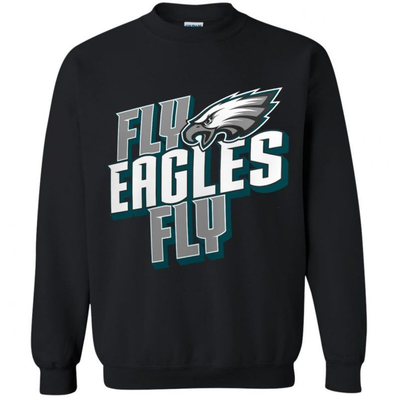 finest selection c2c09 f4234 Philadelphia Eagles Fly Eagle Fly Sweatshirt | Sweatshirt ...