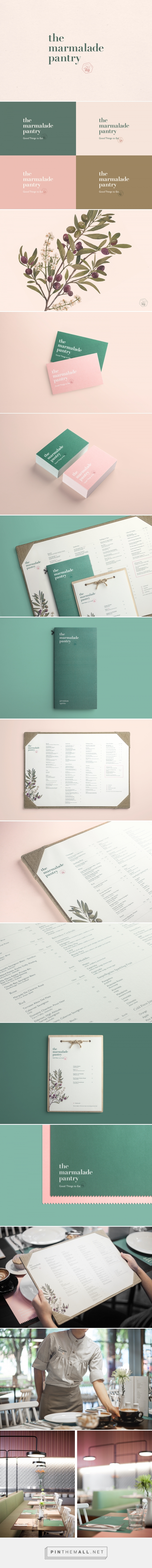 The Marmalade Pantry On Behance A Grouped Images Picture Pin Them All With Images Cafe Branding Identity Design Inspiration Brand Identity Design