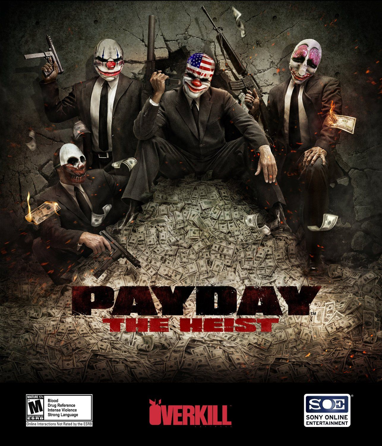 Payday: The Heist (PC Digital Download) Free | Movies, Music, Games