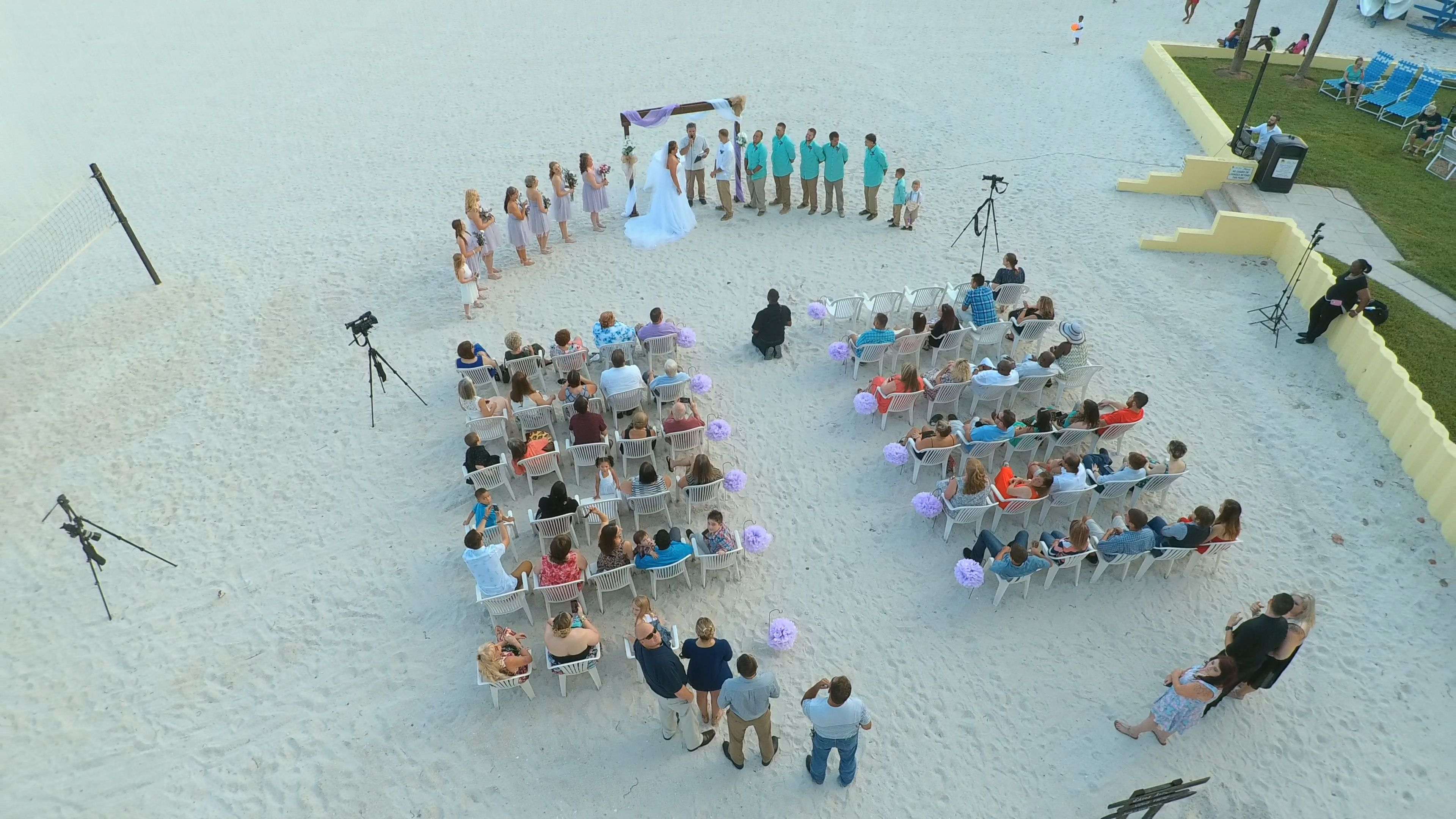 Wedding At Alden Beach Resort By St Pete Photographer Celebrations Of Tampa