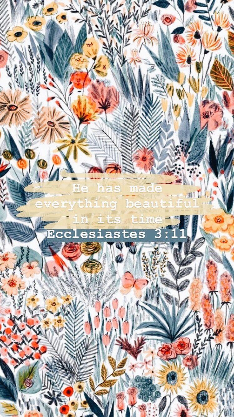 Pinterest Joyful Grace Flower Phone Wallpaper Bible