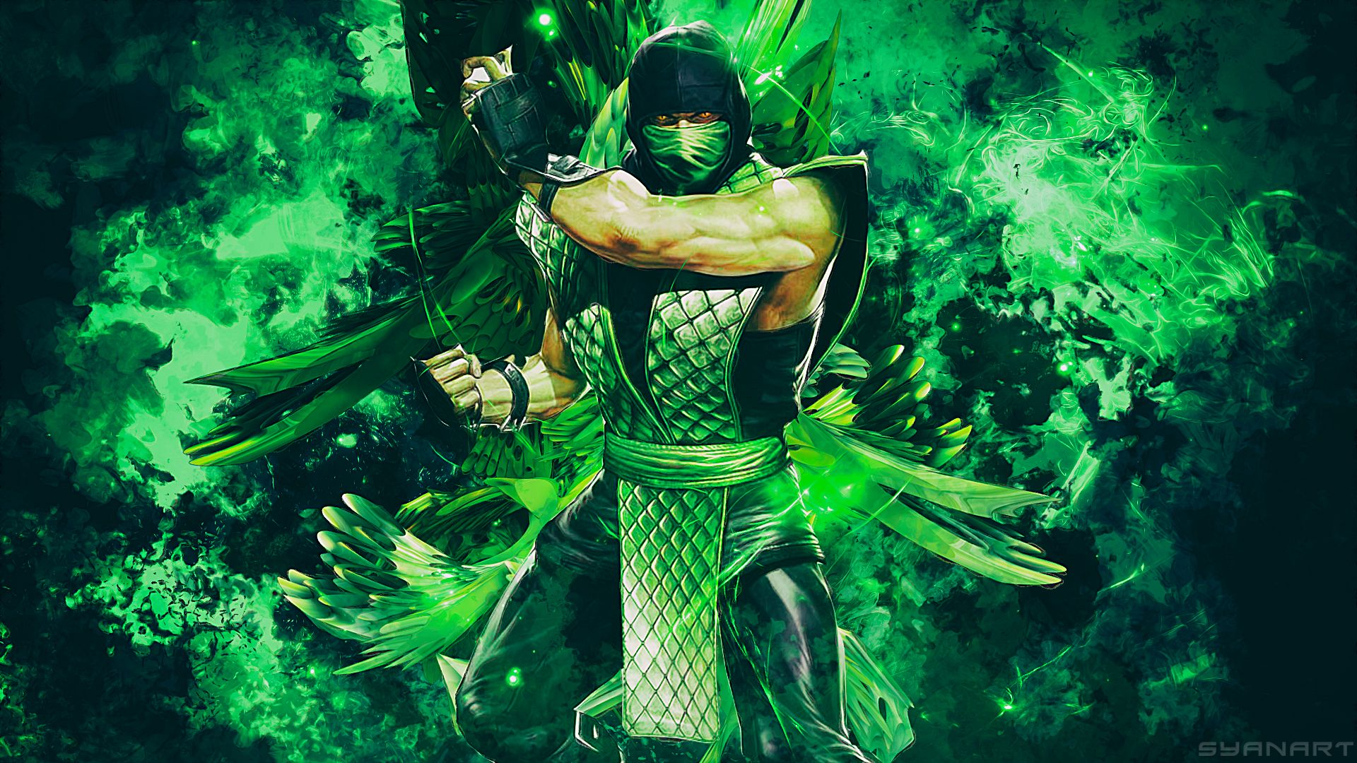 Mortal Kombat Reptile wallpaper Mortal
