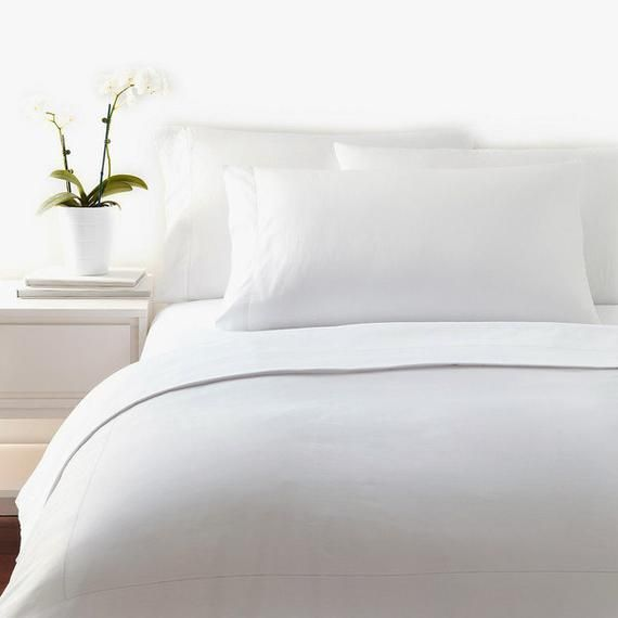 White Bamboo Sheets Twin Size 100 Softest In The World By Fiber Element