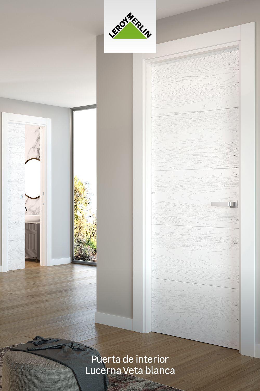 Puerta Ciega Lucerna Premium Blanco D 7x72 5 Cm Leroy Merlin Diseño De Interiores Industrial Suelos De Parquet Diseño Interiores Casas