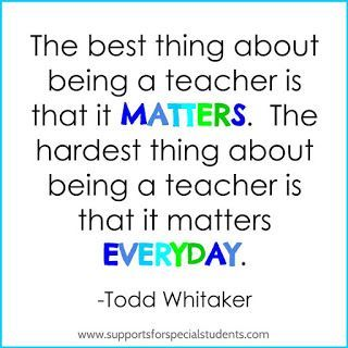 Inspirational educational quotes for teachers in elementary ...
