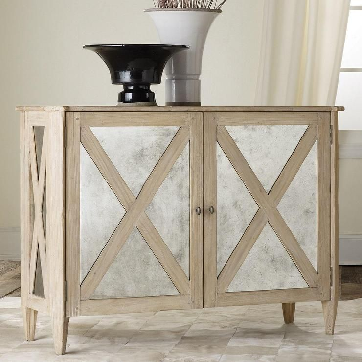 Storage Furniture   Mirrored Two Door Cabinet I Layla Grayce   Mirror  Fronted Oak Cabinet,