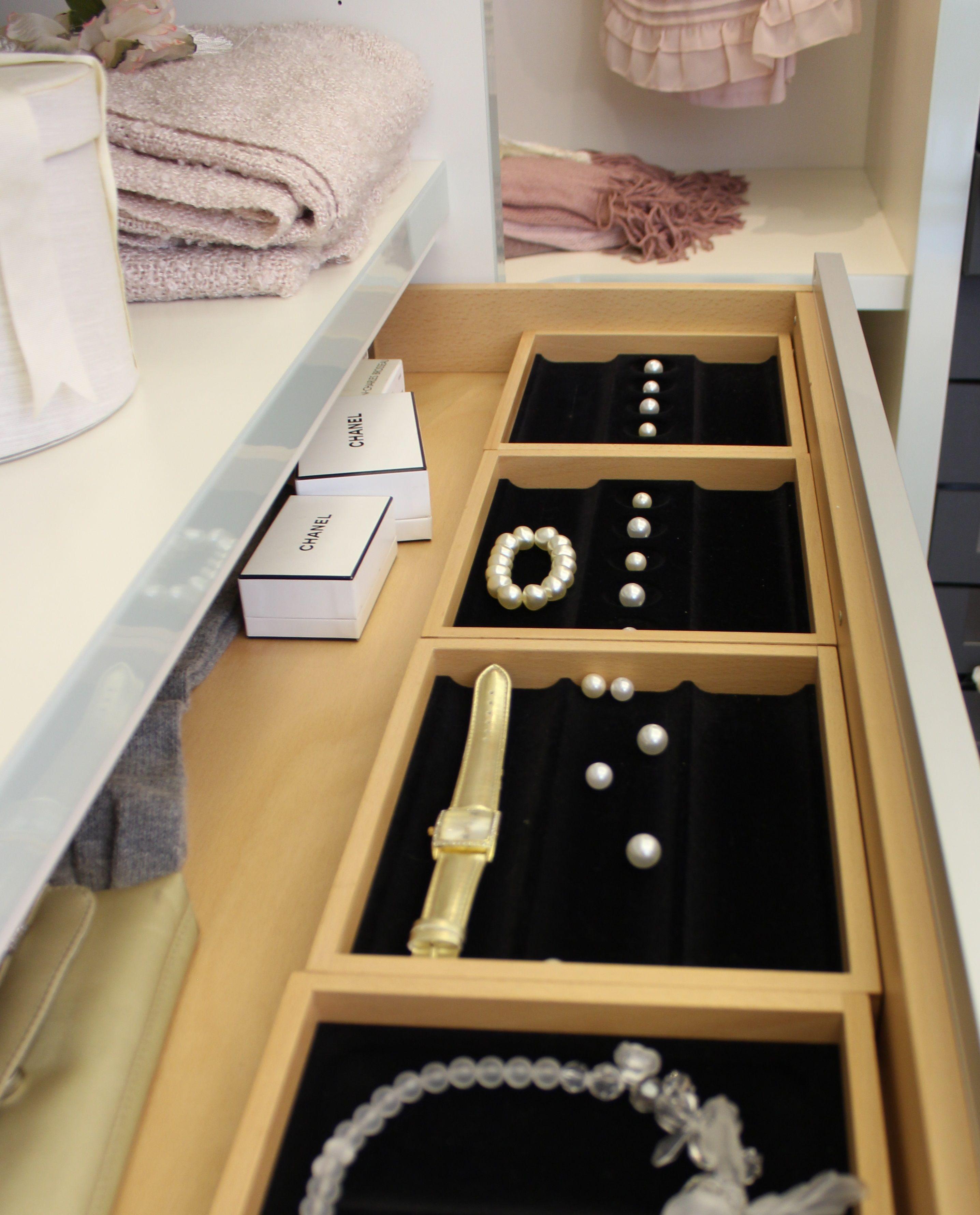Elegant Es wird glamour s Unsere Schubladeneinteilung von http CABINET de sorgt f r