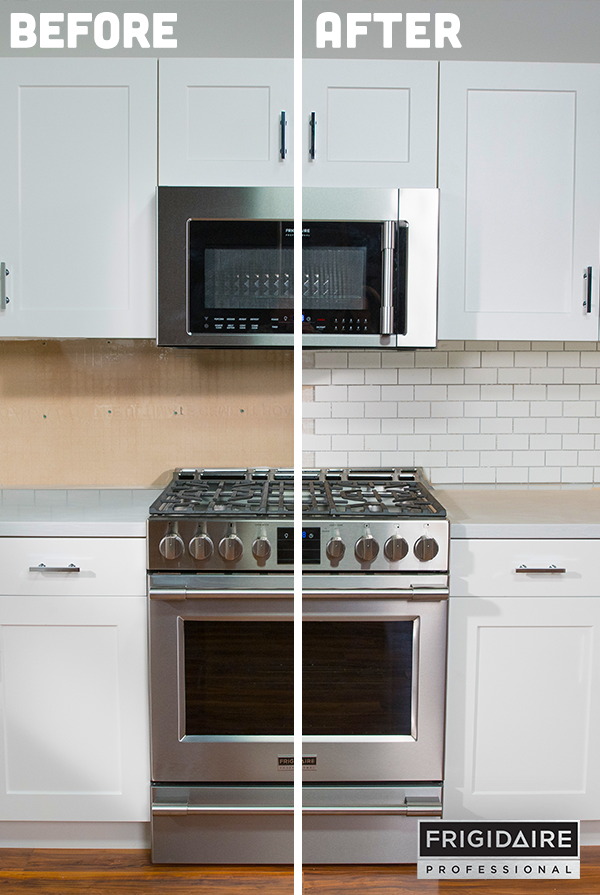 A Tile Backsplash Is Not Only A Practical Element In A Kitchen By  Protecting The Walls