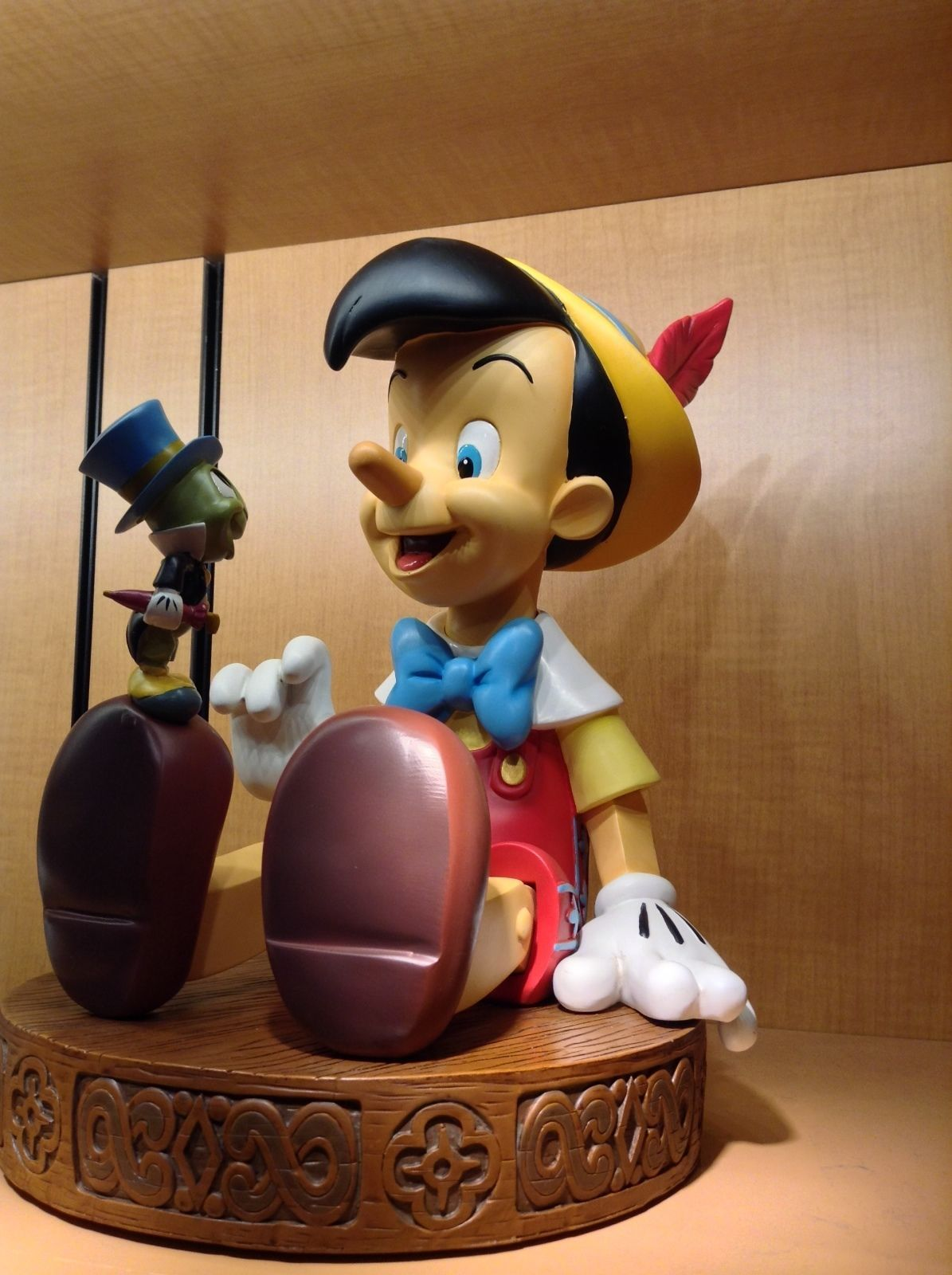 Disney Parks Medium Figure Statue Jingles and Mickey Mouse New with Box