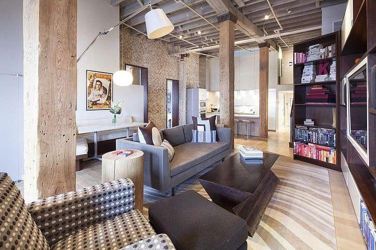 Spacious loft in tribeca home adore