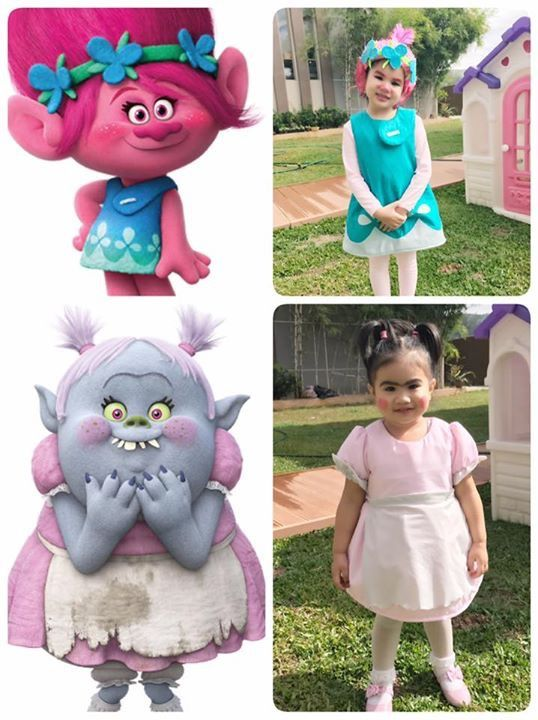 #poppy #bridget #trolls  sc 1 st  Pinterest & poppy #bridget #trolls | Playing Dressed Up | Pinterest | Costumes ...