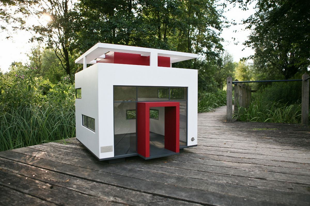 Indoor dog houses - Get Inspiration If You Want To Give Your Dog Something Nice And Maybe Spoil Him