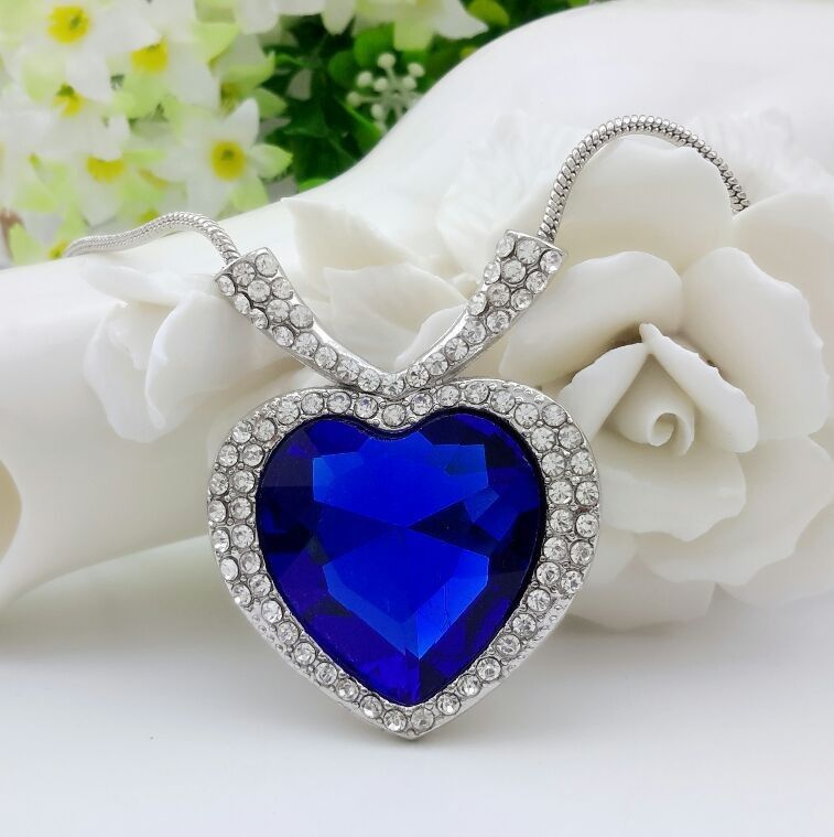 Find More Pendant Necklaces Information about 2015 New Heart Of Ocean Pendant Crystal Necklace For Women Choker Classic Christmas Valentine's Day Gift Wedding Necklace ,High Quality gift cheap,China necklace kitty Suppliers, Cheap gift retail from Mc Ornaments on Aliexpress.com