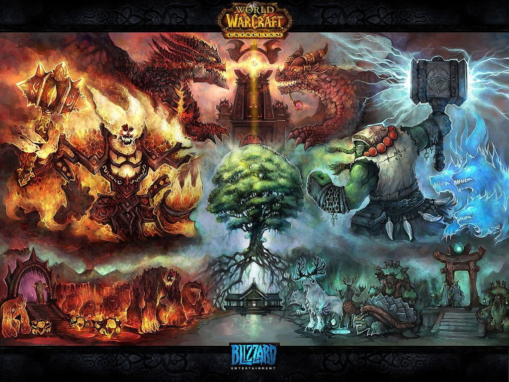 The Battle Of Mount Hyjal By Liuhao726deviantartcom Blizzard
