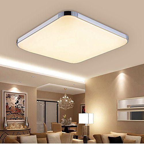 Hengda® 24W LED Deckenleuchte 85V 265V Warmweiß Deckenlampe Wohnzimmer  Küche Panel Lampe Deckenbeleuchtung
