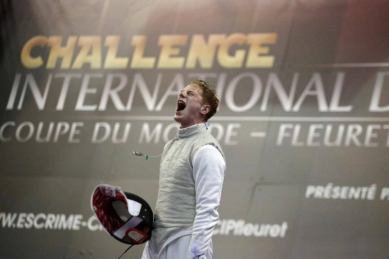 Race imboden after beating peter joppich 159 at the 2016