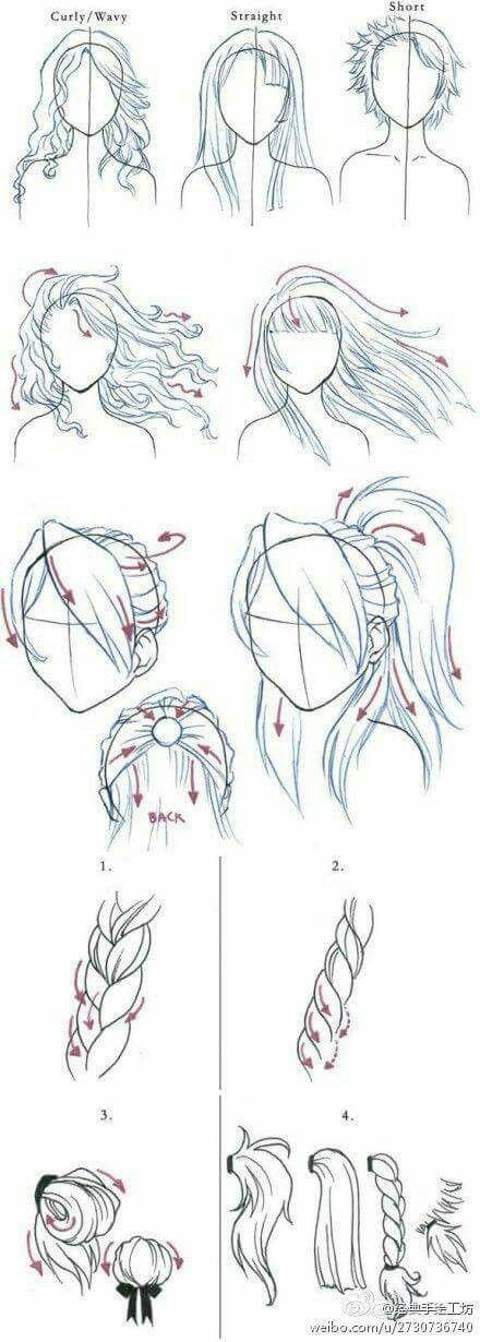 Photo of | Frisuren zeichnen, Anime H.