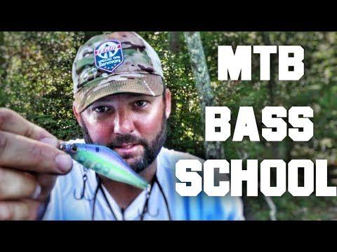 Mtb Bass Fishing School Mtb Slam Frog Fishing Youtube