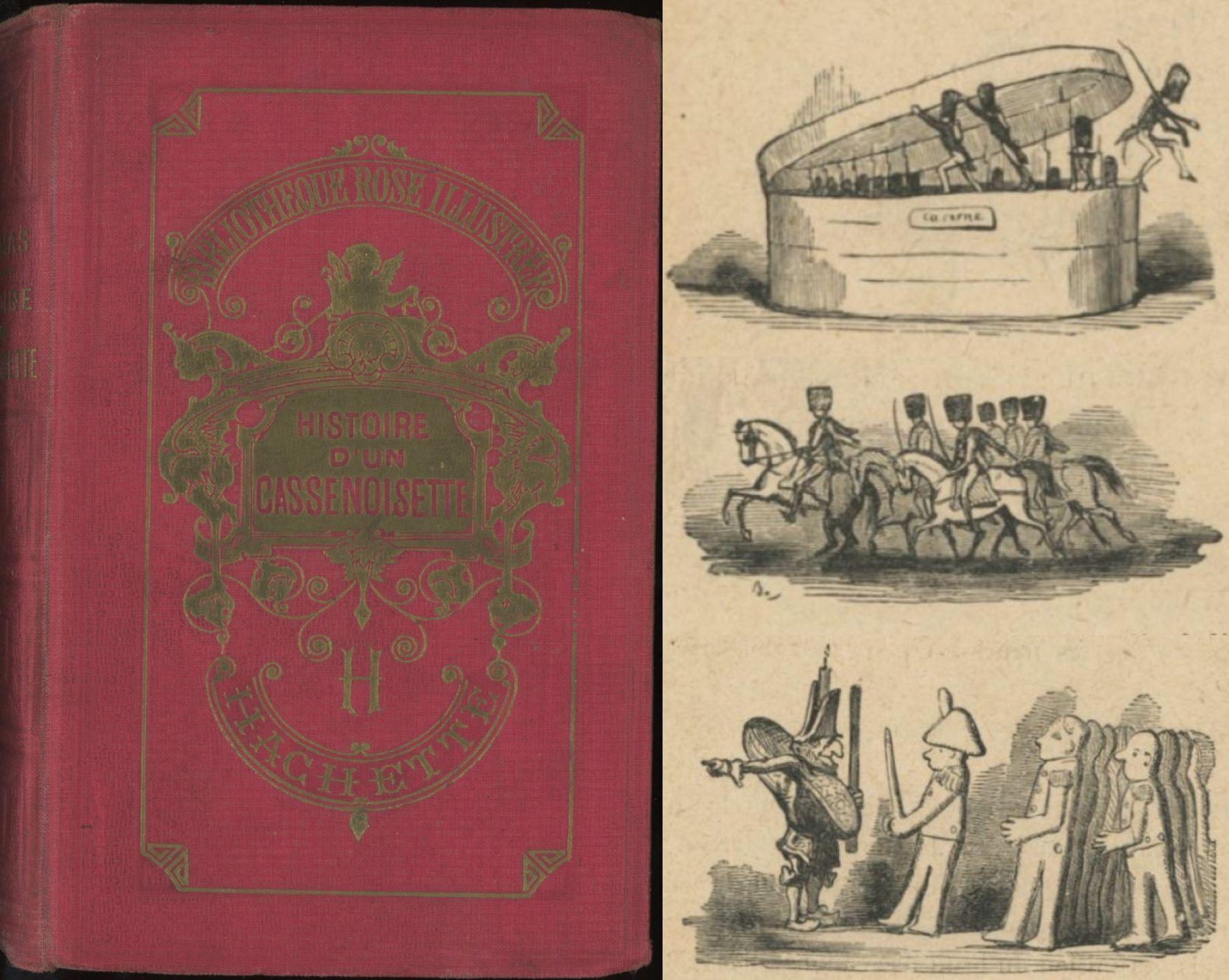 Bertall - Histoire d'un casse-noisette, Alexandre Dumas, Hachette Bibliothèque Rose Illustrée 1921