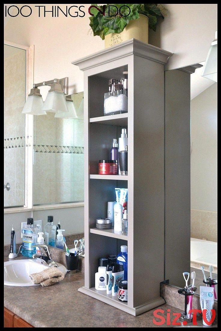 Badezimmerturm Badezimmerturm Waschtisch Schrank Auf