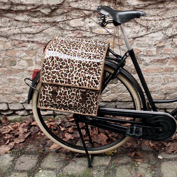 Fahrradtasche Modell Leopard Von Ikuri Auf Dawanda Com
