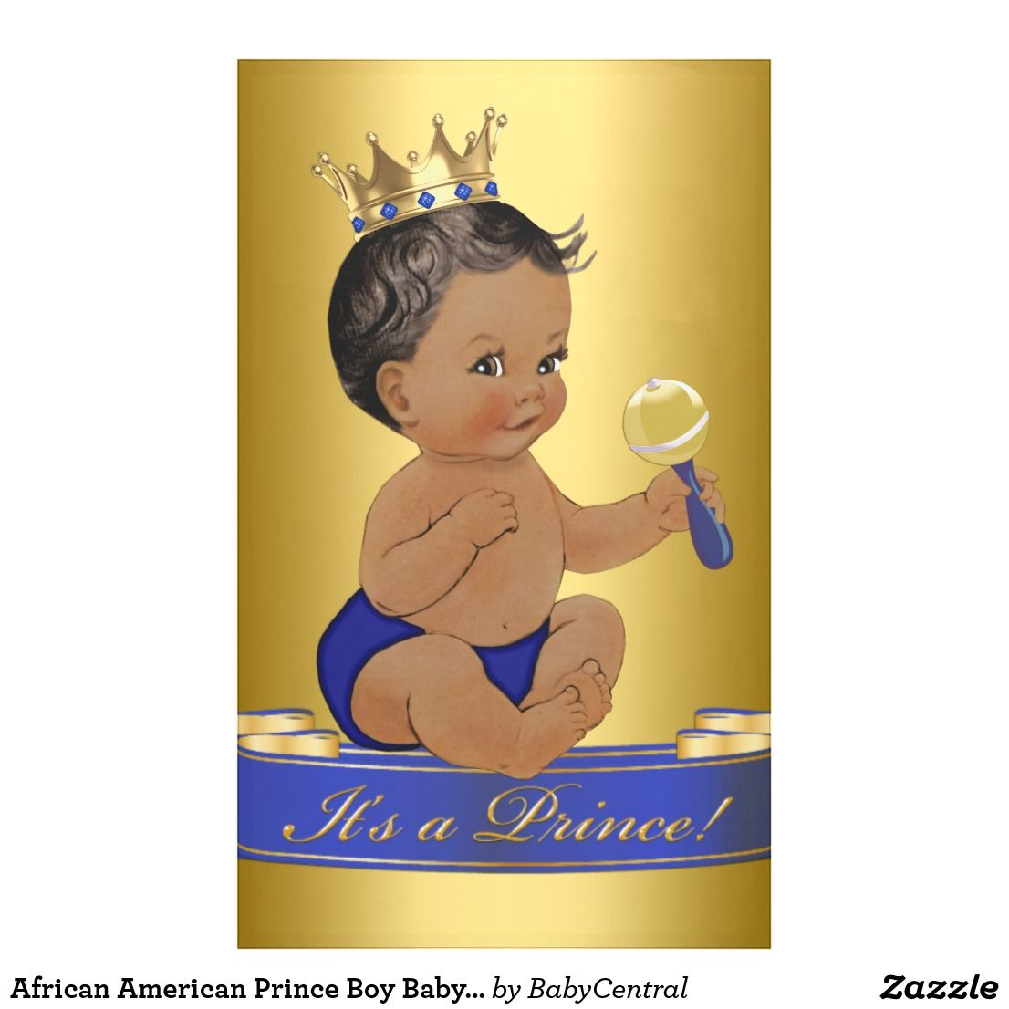 pic Black Baby Prince Image african american prince boy baby shower