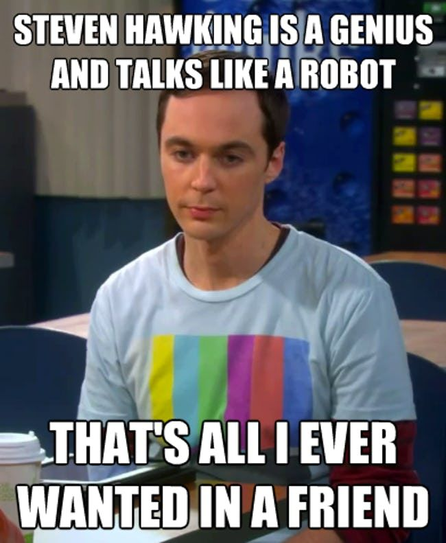 The Best Big Bang Theory Memes Of Day