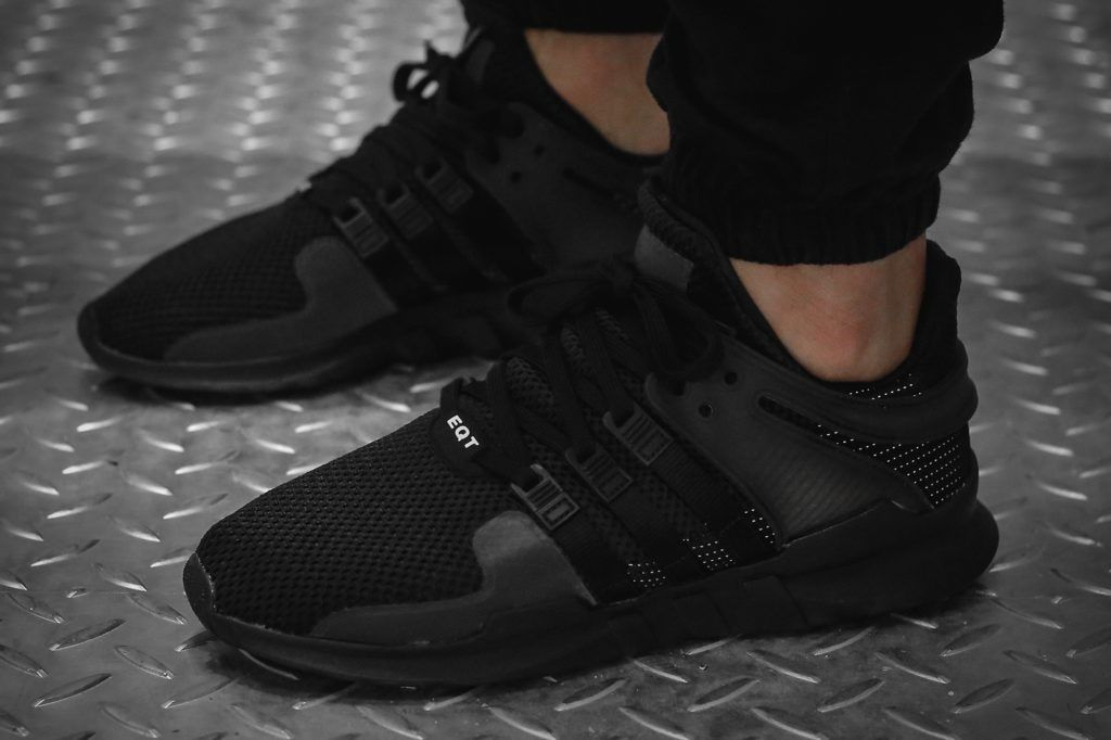 bb1310 adidas eqt support adv primeknit 93 blackmetallic gold sneakers  mens  having already made waves this month the adidas originals eqt support  adv drops ... 189676a108