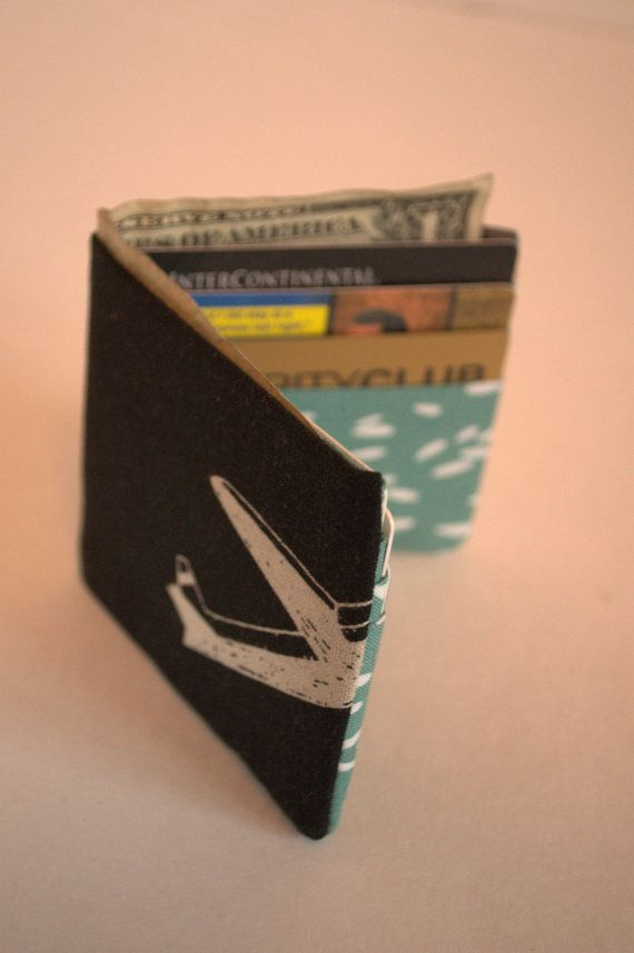 Men's Wallet linen and cotton by GaryInSitu on Etsy, $18.00