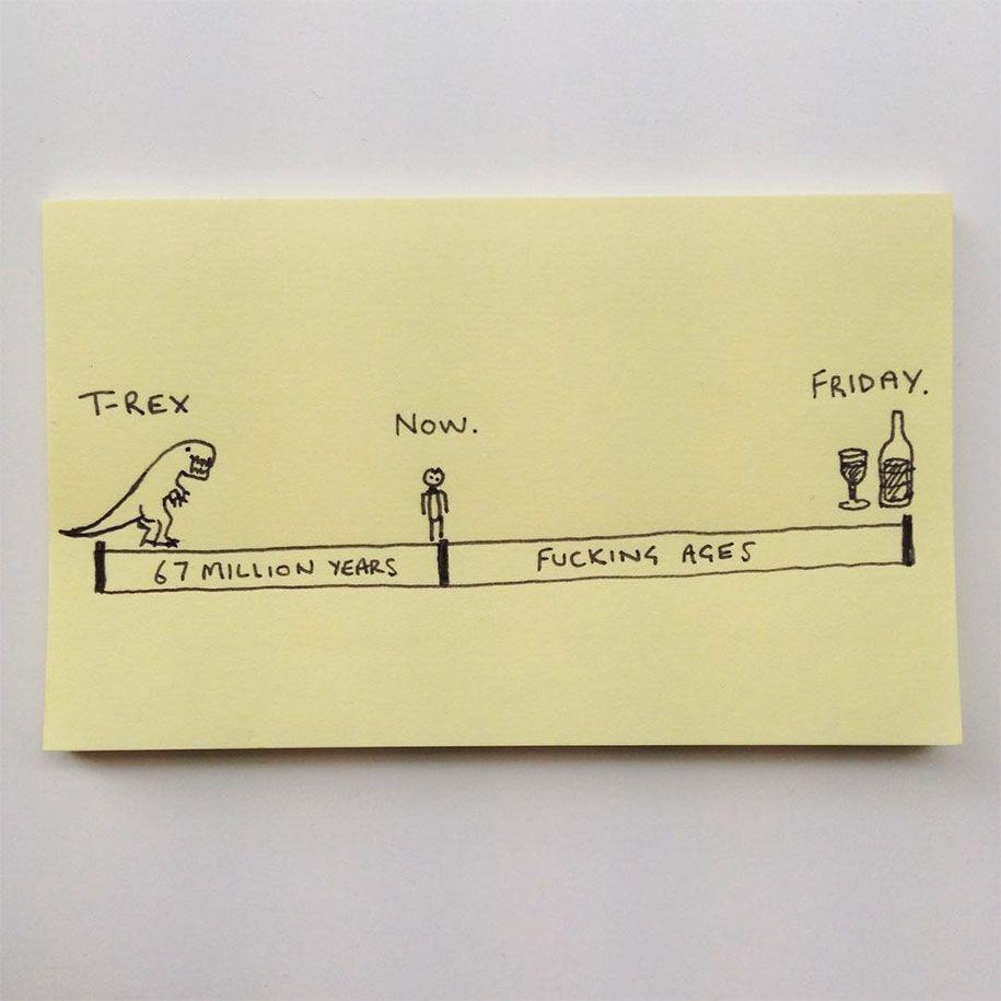 Úprimné ilustrácie vtipne opisujú život dospelákov – Doba Mag.