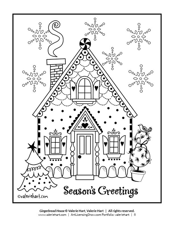 Free 92 Page Holiday Coloring Book Artlicensingshow Com Your 24 7 Virtual Art Licensing Show Free Christmas Coloring Pages Printable Christmas Coloring Pages Holiday Coloring Book
