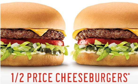 Sonic Drive In 1 2 Price Cheeseburgers Fast Food Coupons Sonic Drive In Restaurant Deals