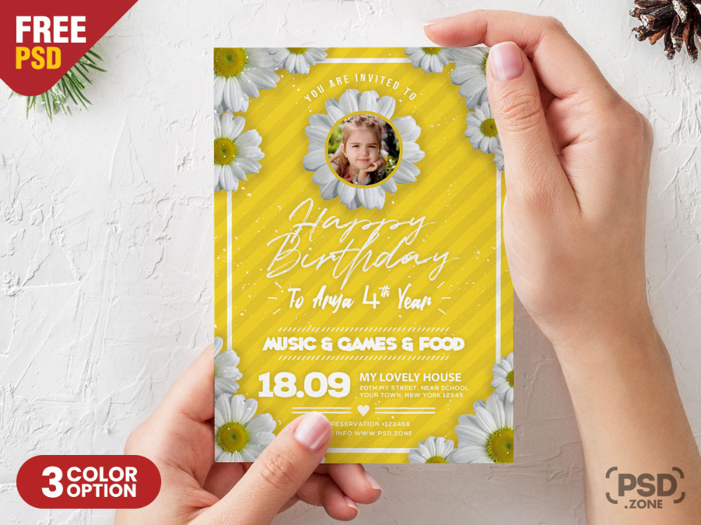 Download Free Birthday Card Design Psd Template This Birthday Card Design Psd Template Birthday Card Template Free Birthday Card Design Birthday Card Template