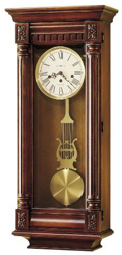 Howard Miller 620196 New Haven Wall Clock Want To Know More Click On The Image Howard Miller Wall Clock Wall Clock Classic Pendulum Wall Clock