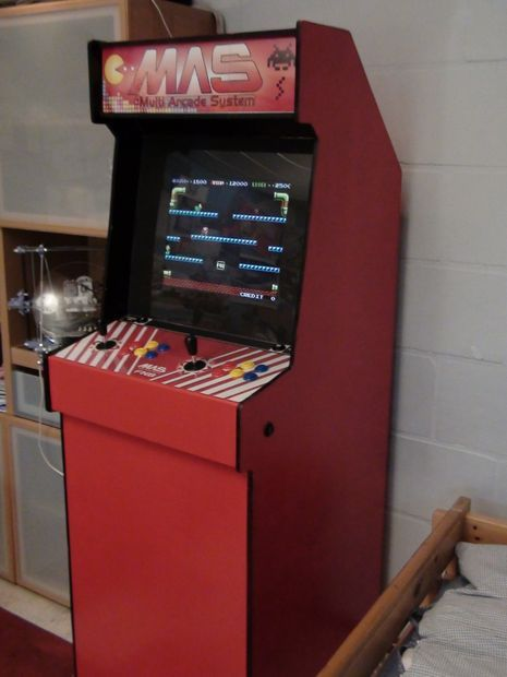 Nice Build An Arcade Cabinet For 200euro ($250)