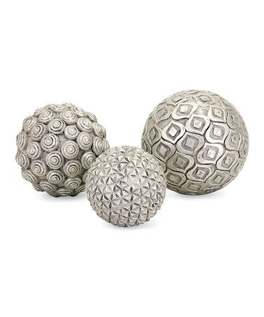 Another great find on #zulily! Nahara Ball Décor Set #zulilyfinds