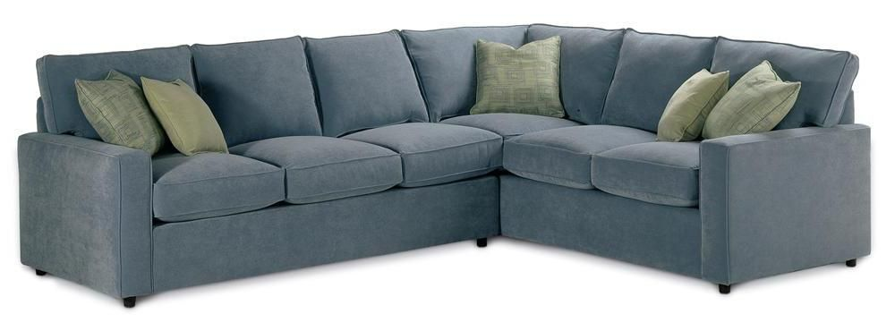 monaco sectional sofa by rowe - Sleeper Sectional Sofa