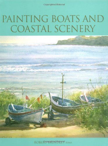 """Read: """"Painting Boats and Coastal Scenery"""" by Robert Brindley #watercolor"""